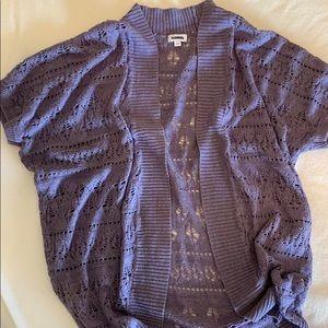 Sweaters - Kismet. Short sleeve crochet cardigan